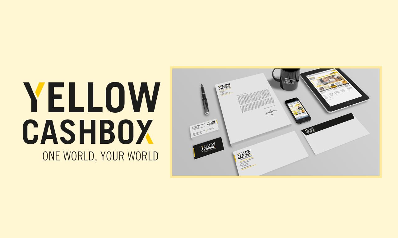Branding Yellow Cashbox