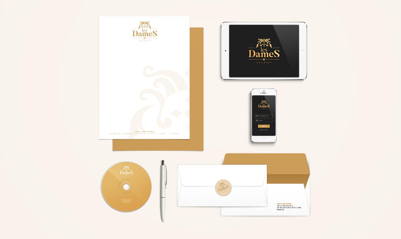 Les Dames | Branding