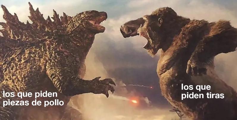 KFC Godzilla vs. Kong