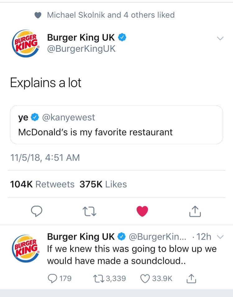 Kanye West trolled by Burger King hackvertising